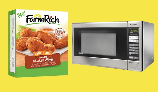 Farm Rich Chicken Wings and Microwave sweepstakes