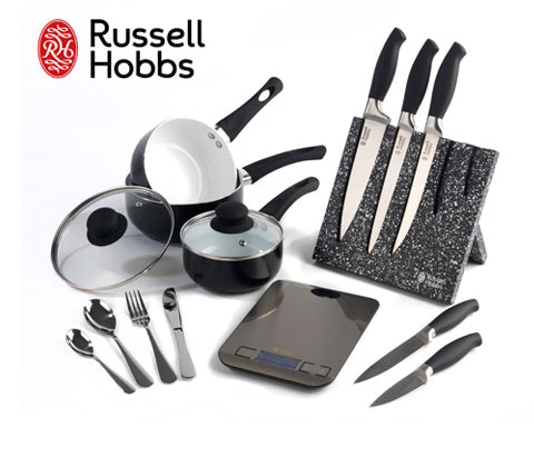 Win 5 x Russell Hobbs hamper sets sweepstakes