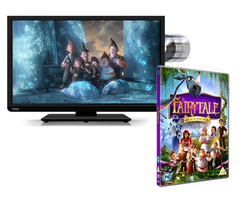 Win a TV and FAIRYTALE: STORY OF THE SEVEN DWARVES on DVD   sweepstakes