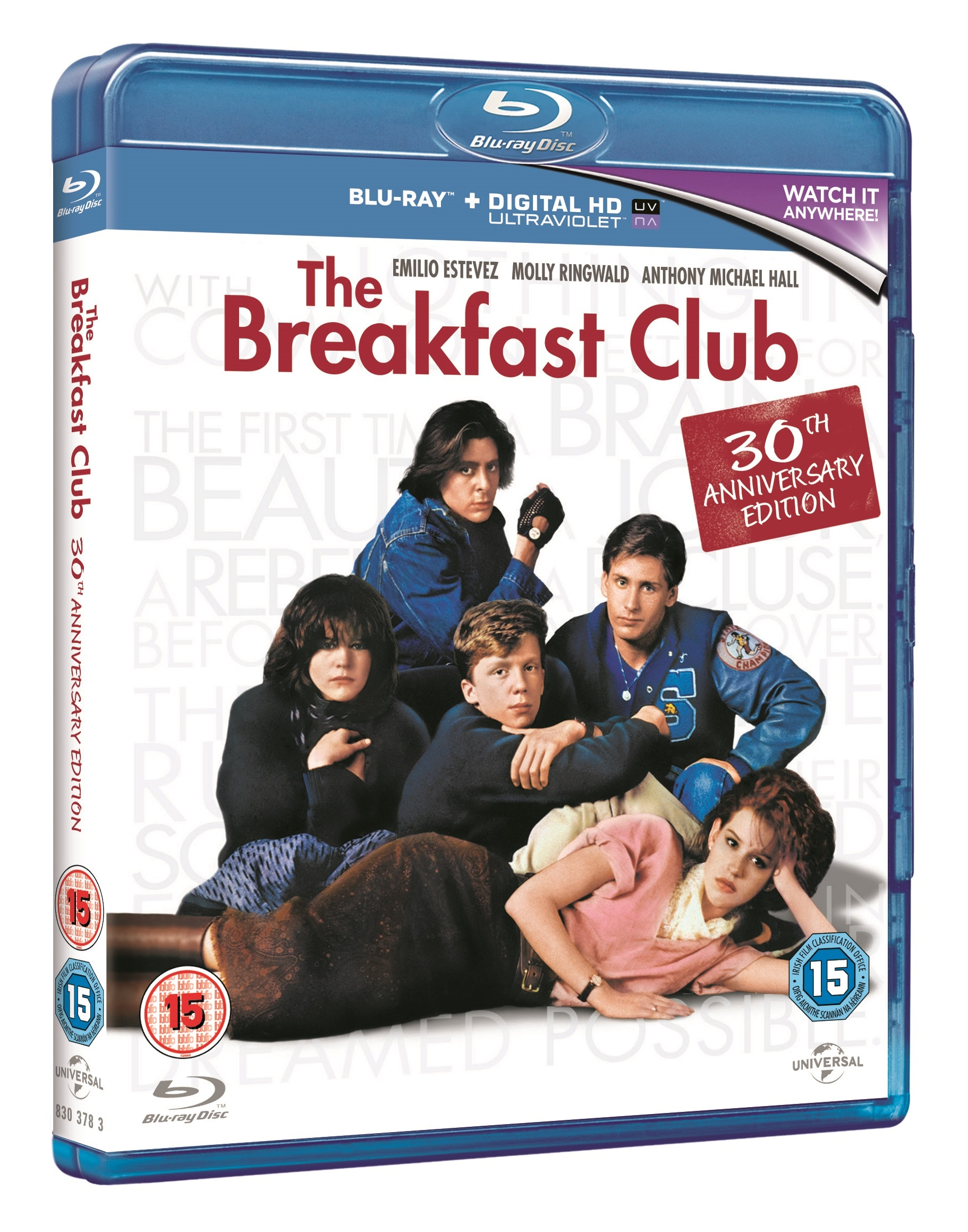 The Breakfast Club Blu-ray sweepstakes