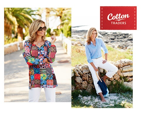 Win 5 x £100 Cotton Traders vouchers sweepstakes