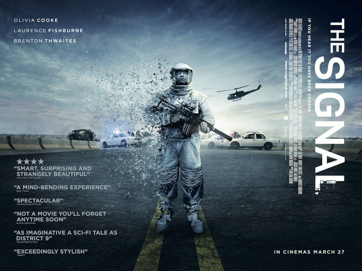 The Best In Sci-Fi with THE SIGNAL sweepstakes