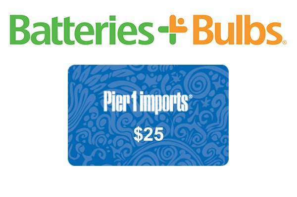 Batteries Plus Bulbs Home Entertaining Prize Package sweepstakes