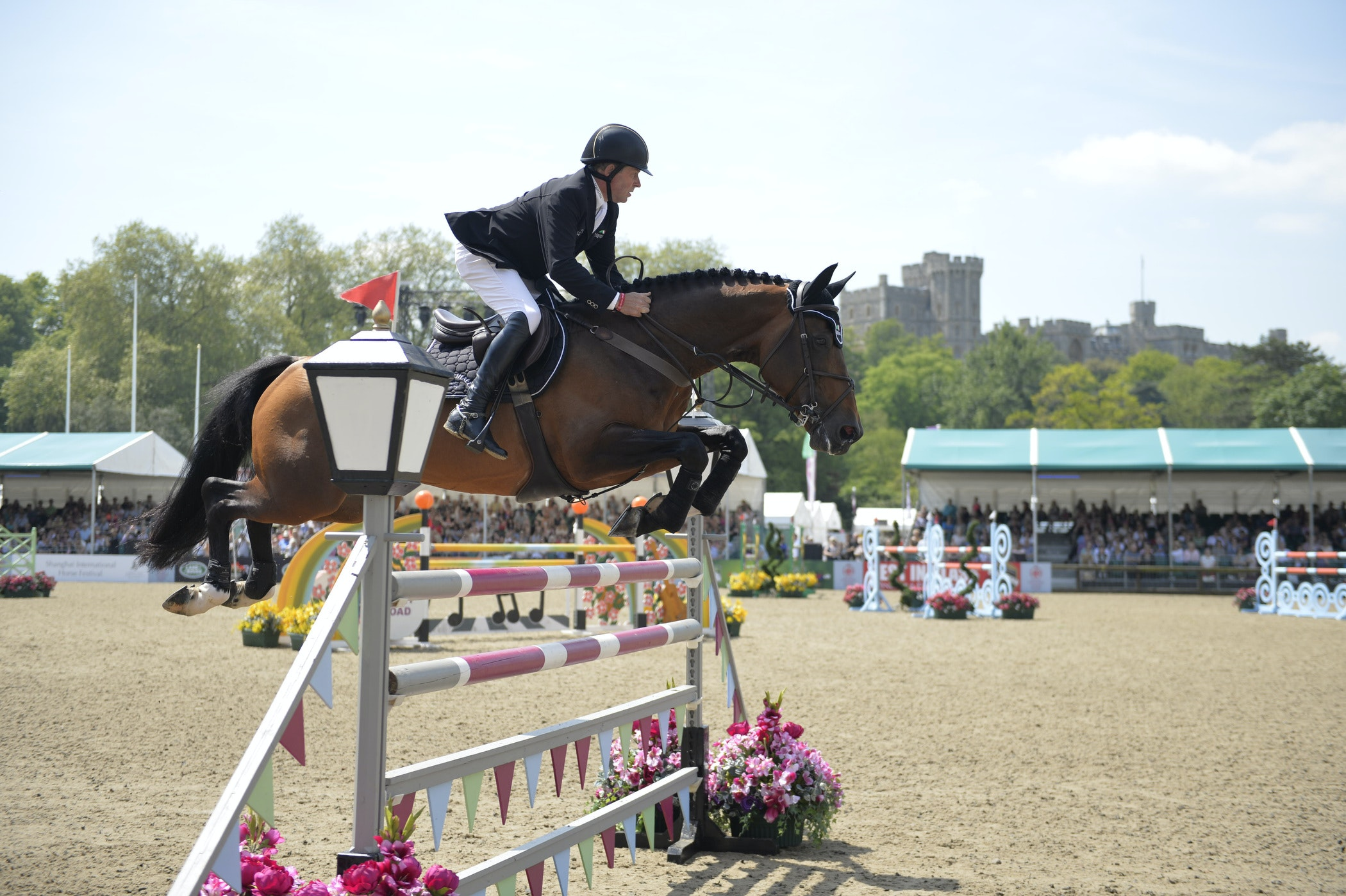 A pair of tickets to the Royal Windsor Horse Show sweepstakes