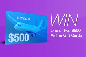 INTERSTELLAR Airline Gift Cards sweepstakes