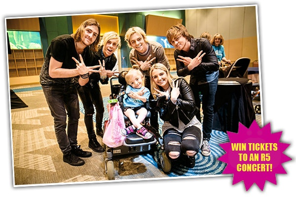 R5 Tickets sweepstakes