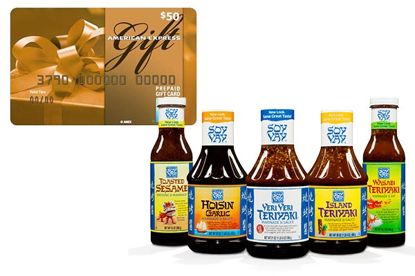 Soy Vay Prize Package Small sweepstakes