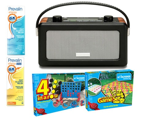 Win 3 x DAB radios & garden games with Prevalin Allergy sweepstakes