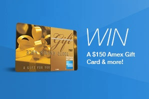 150 Amex Gift Card and a Savory Soy Vay Prize Package sweepstakes