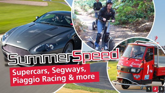 SummerSpeed driving experience sweepstakes