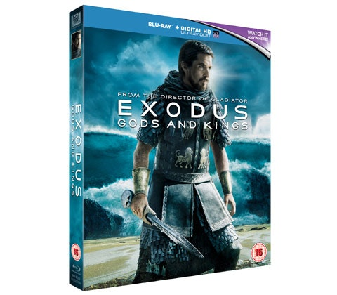 Blu-ray of Exodus: Gods and Kings! sweepstakes