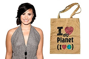 Demi Lovato Signed Tote sweepstakes