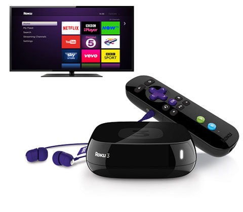 Win 5 x Roku 3 streaming players sweepstakes