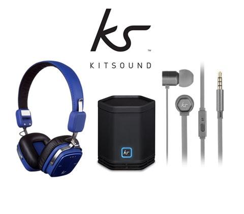 Win 3 x KitSound bundles sweepstakes