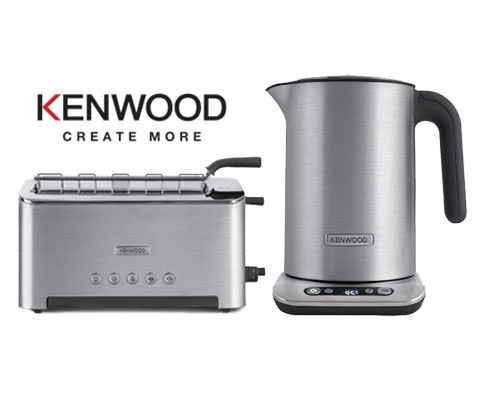 Win a Kenwood Persona Toaster and Kettle duo sweepstakes
