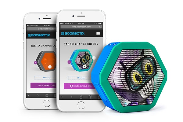 Boombotix Build-a-Bot Speaker sweepstakes