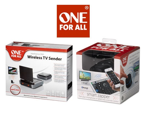 Win 5 x One For All audio-visual smart devices sweepstakes