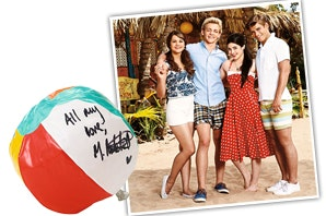 TB2 Cast Signed Beach Ball sweepstakes