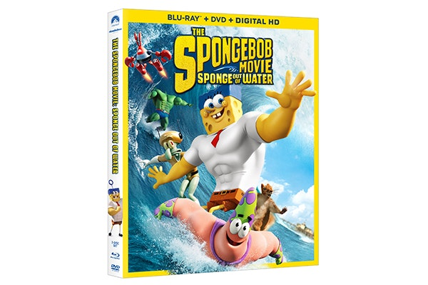 THE SPONGEBOB MOVIE on Blu-ray Combo Pack sweepstakes