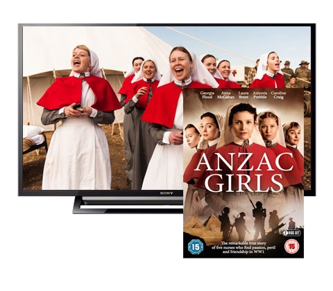 Win a Sony HD TV and Anzac Girls DVD sweepstakes