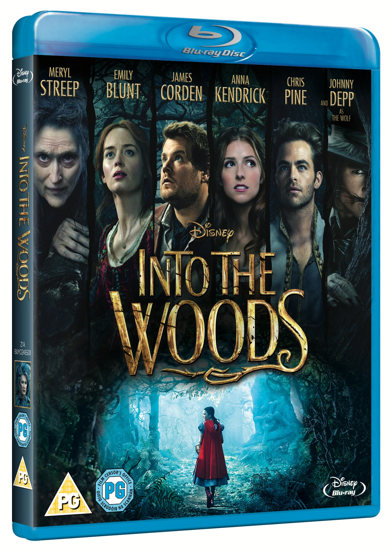 Into The Woods Blu-ray and poster sweepstakes