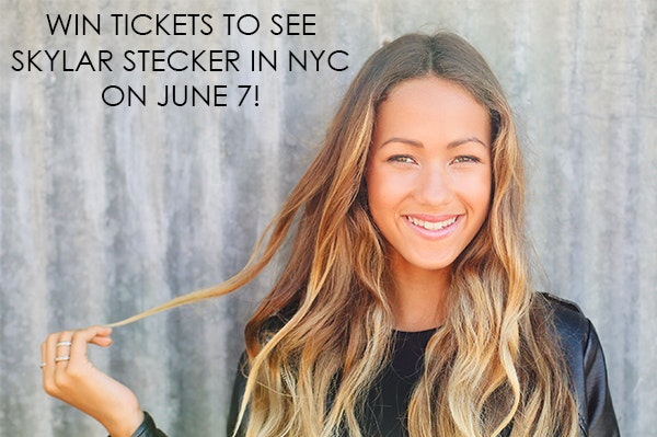 Tickets to See Skylar Stecker in NYC on June 7 sweepstakes