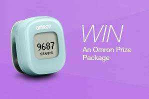 Omron giveaway may sm
