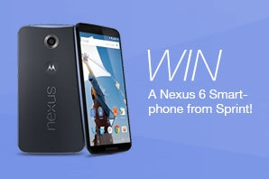 Nexus 6 Smartphone from Sprint sweepstakes
