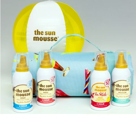 Sun Mousse  sweepstakes