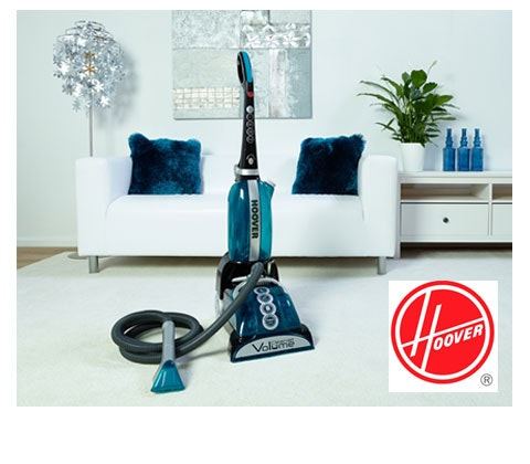 Win 2 x Hoover CleanJet Volume Carpet Cleaners sweepstakes
