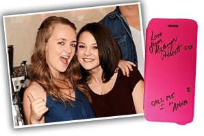 Win a Finding Carter cast signed case! sweepstakes