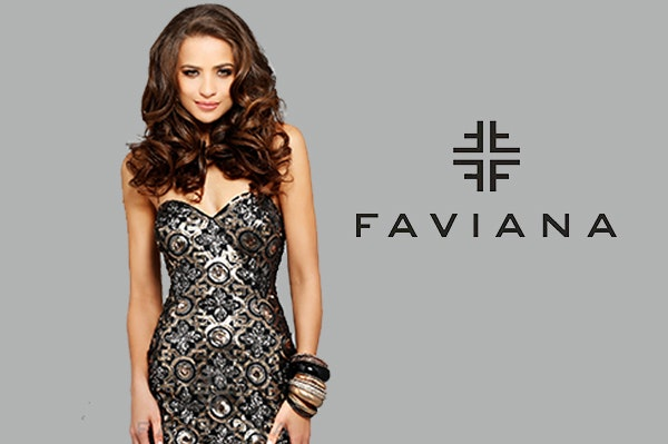 Faviana dress sm