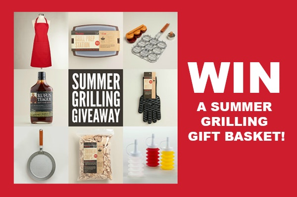 Summer grilling gift basket small