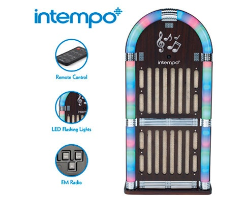 Win 5 x Intempo Jukeboxes sweepstakes