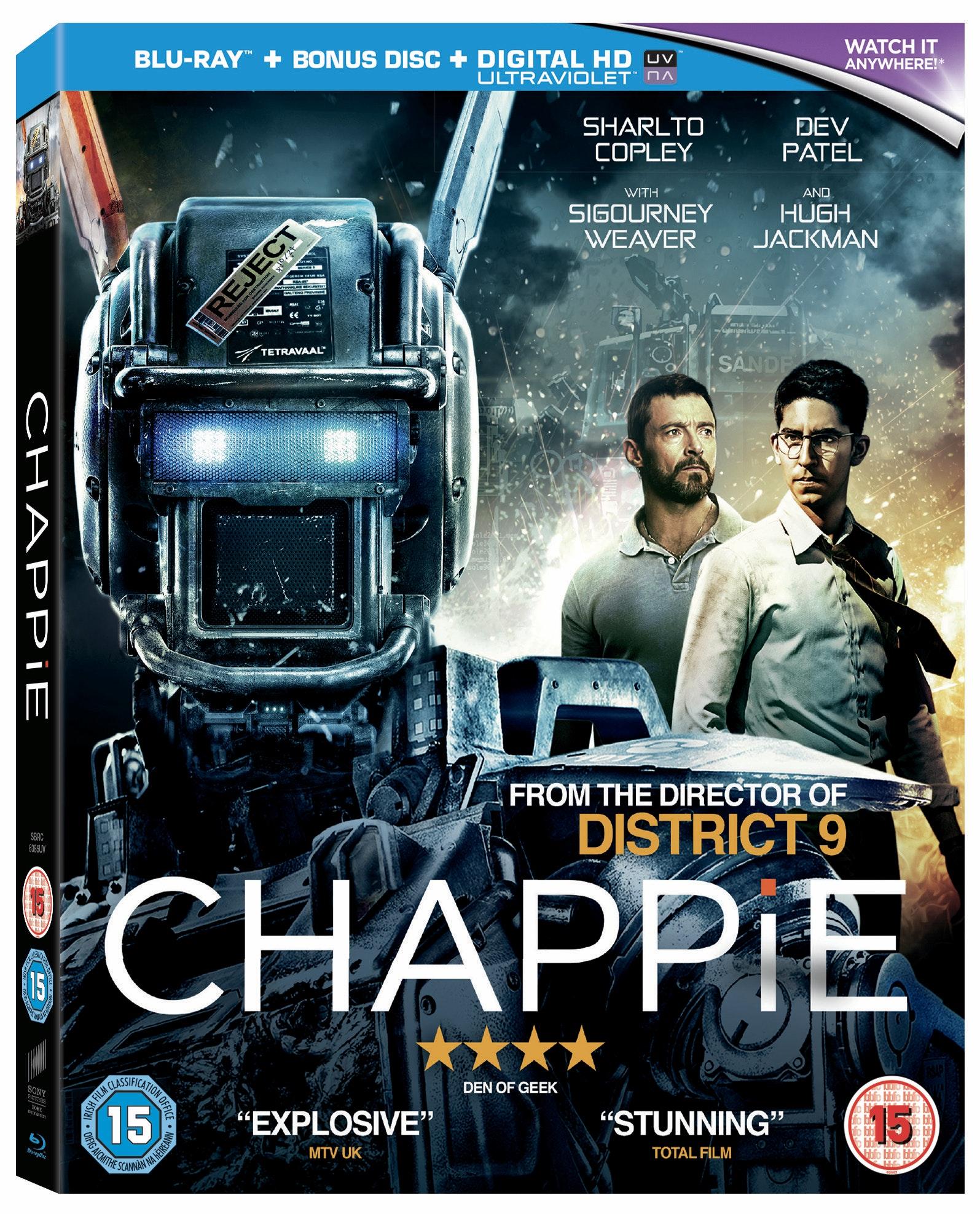 Chappie blu-ray sweepstakes