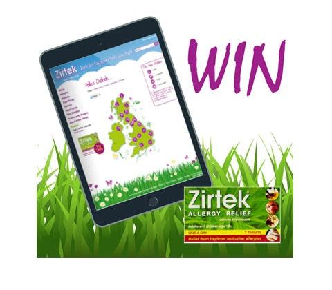 Win 2 x iPad mini tablets from Zirtek sweepstakes