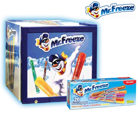 Win a Mr Freeze Freezer filled with Mr Freeze freezepops sweepstakes