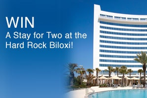Vacation for Two at Hard Rock Hotel Biloxi sweepstakes