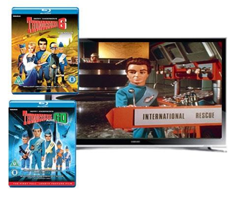 Win a 32in Samsung Smart TV & Thunderbirds Blu-ray sweepstakes