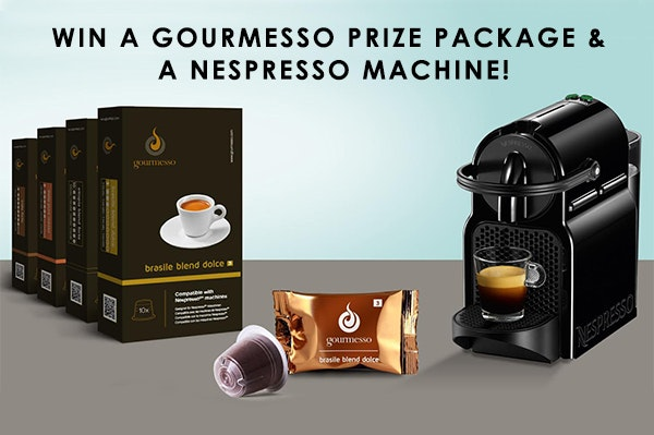 Gourmesso Prize Package sweepstakes