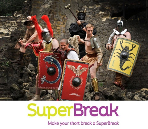 Museum of London's Gladiator Games tickets sweepstakes