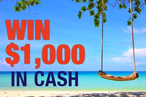 $1000 in Free Cash - July sweepstakes