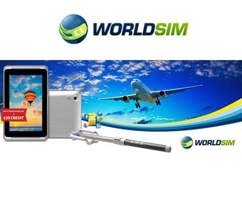 Win a WorldSIM bundle sweepstakes