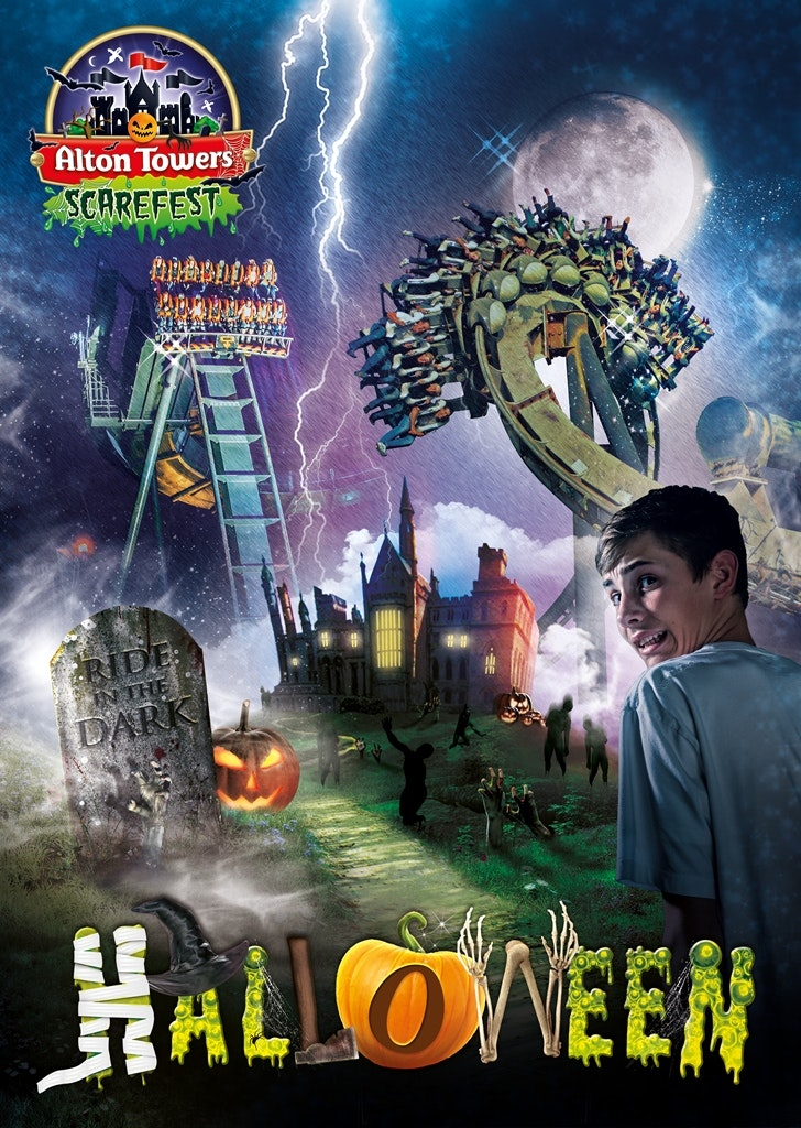 Alton Towers Scarefest sweepstakes