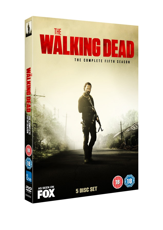 zombie battle London experience and 1 x Walking Dead box set sweepstakes