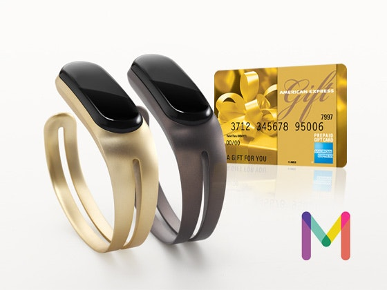 Mira Fitness tracker and $200 American Express gift card sweepstakes