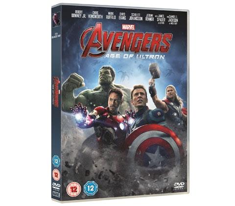 Avengers DVD sweepstakes