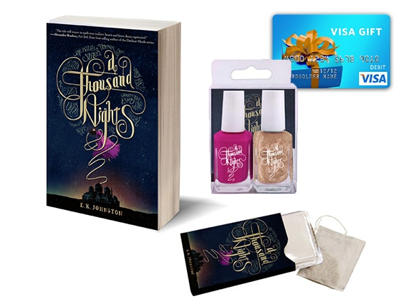 THOUSAND NIGHTS Prize Package sweepstakes