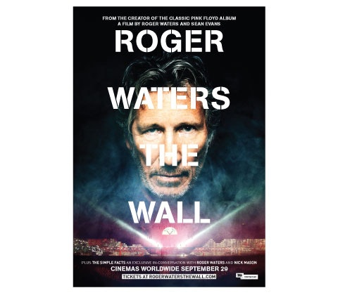 Roger Waters The Wall film posters sweepstakes