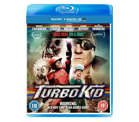 Turbo Kid blu-ray sweepstakes